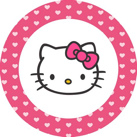 imagenes de hello kitty redondas image result for hello kitty transparent circle card