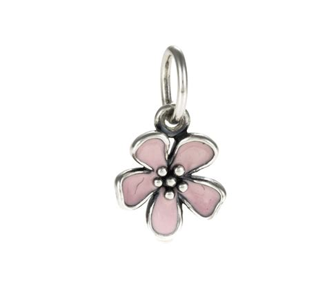Pandora Cherry Blossom Flower Necklace Pendant 390347EN40