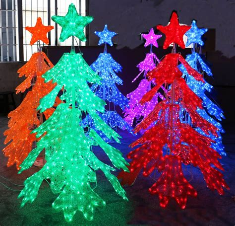 large acrylic christmas outdoor decoration lighting