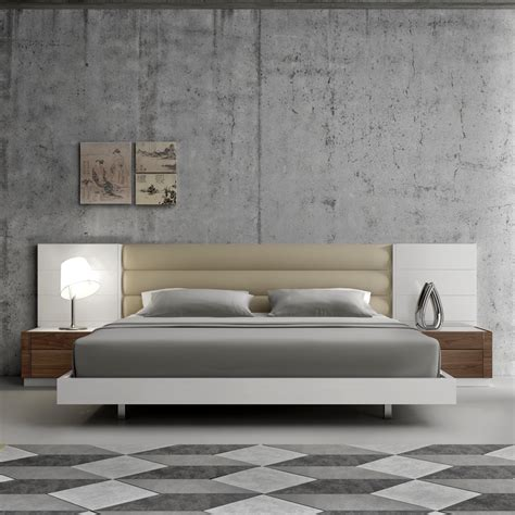 modern king size bedroom sets for majestic bedroom decohoms lisbon modern bed white bedroom furniture j m furniture