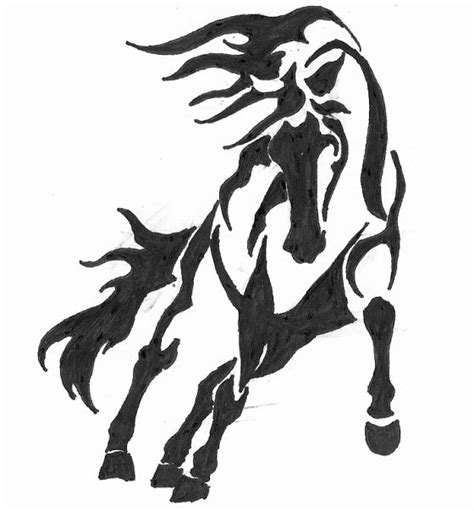 tattoo horse simple horse tattoo 1 by dtdahorsey deviantart com on deviantart