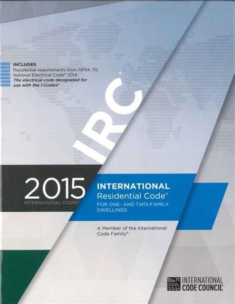 international residential code carolina seminars