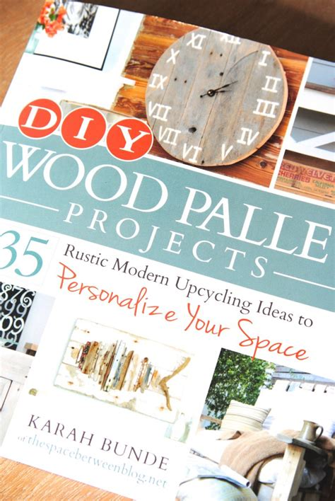 diy wood pallet projects book review and giveaway
