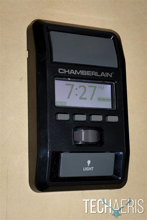 Garage Door Opener Phone by Chamberlain Wi Fi Garage Door Opener Review Operate And