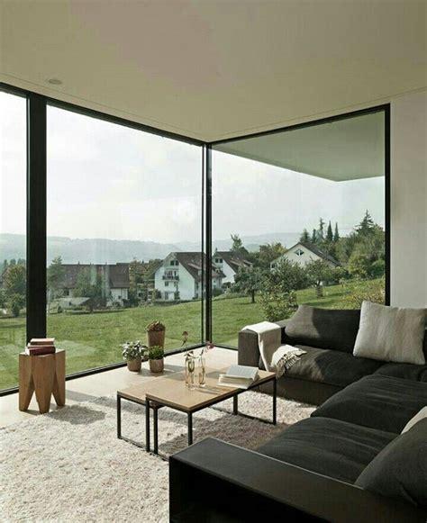 glasfront haus glasfront wohnzimmer bauen wohnzimmer