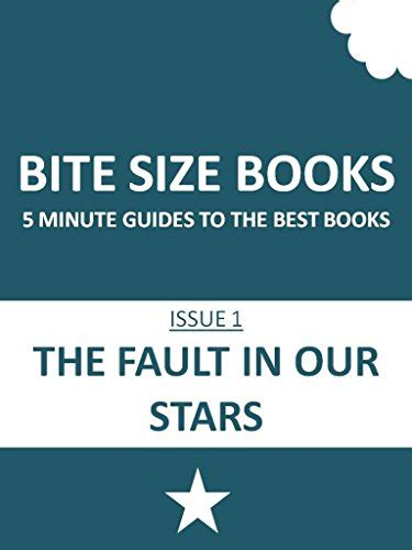 book report of the fault in our quot bite size books the fault in our 5