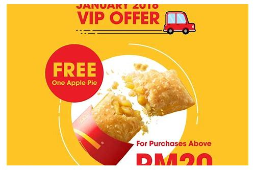 mcdonalds deals january 2018