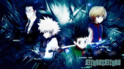 hunter x hunter wallpaper for laptop hunter x hunter wallpapers download 37 wallpapers