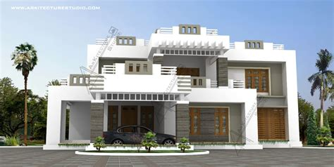 contemporary home designs for kerala contemporary modern style kerala house design at 3600 sqft