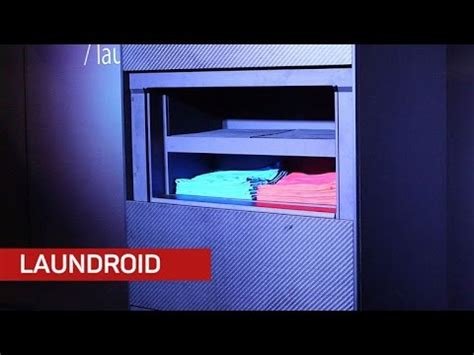 laundroid robot folds clothesand undies technology arena