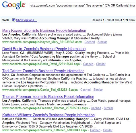 Zoominfo Search How To Search Spoke Zoominfo And Jigsaw For Free Boolean Black Belt Sourcing