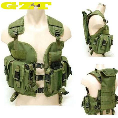 Rompi Tactical Vest Fsbe Molle Improt top quality bdu us navy seals 97 vest molle water bag swat tactical vest army
