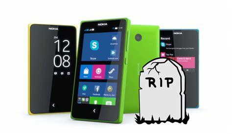 nokia android phones x series microsoft kills nokia x android smartphones phonebunch
