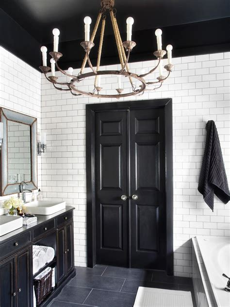 decorating inspiration black white hooked on houses bold black interior doors inspiration and tips hgtv s