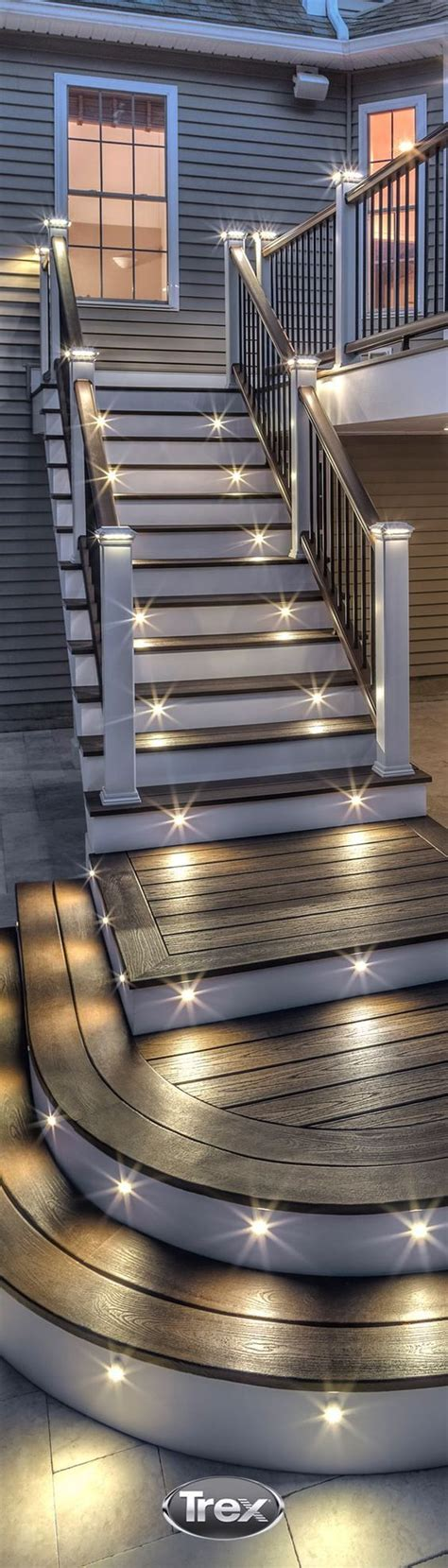Outdoor Stairway Lighting 25 Best Ideas About Stair Lighting On Pinterest Led Stair Lights Lights For Stairs And Led