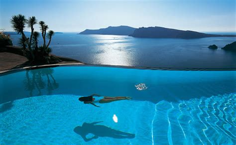 for luxury top 10 santorini hotels with infinity