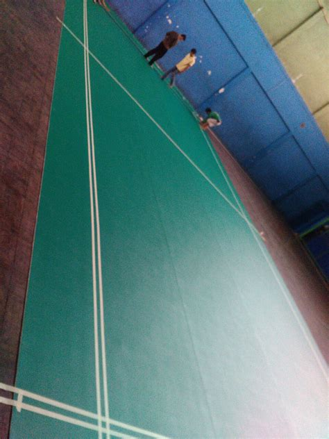 Karpet Wc harmony carpet karpet lapangan badminton bank bjb project