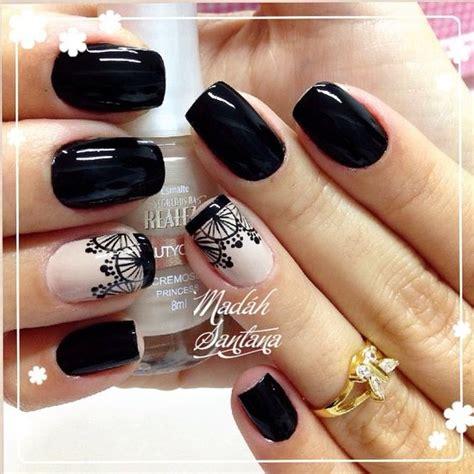 imagenes uñas color negro unas decoradas en color negro 2 curso de organizacion