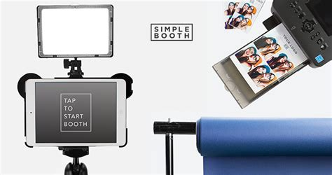 photo booth stand with light diy photo booth simple booth