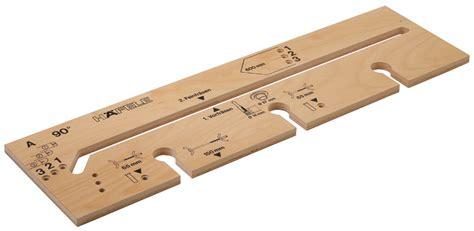 arbeitsplatten verbinden schablone fr 228 sschablone f 252 r arbeitsplattenverbinder im h 228 fele