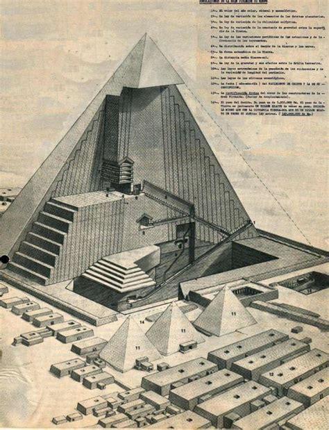 interno piramide di cheope architettura egizia