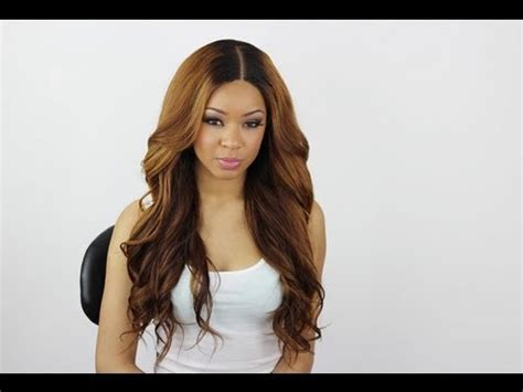 barrel curl weave hair bouncy big barrel curls youtube