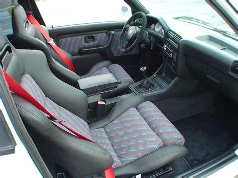bmw e30 m3 evo 3 interior seat cloth bimmercloth