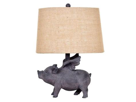 whole hog lighting desk flying pig l nadeau minneapolis