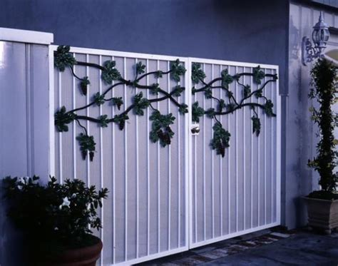 modern homes iron entrance gate designs ideas new