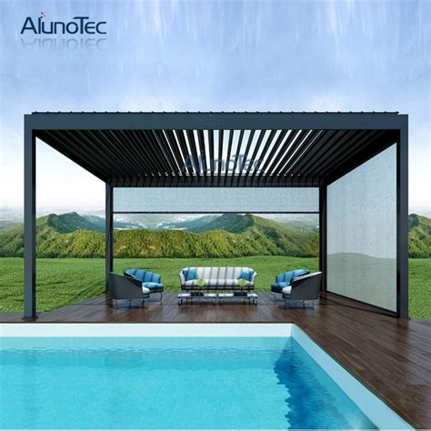waterproof pergola designs swimming pool tent pergola - Pavillon Aluminium 3 X 4