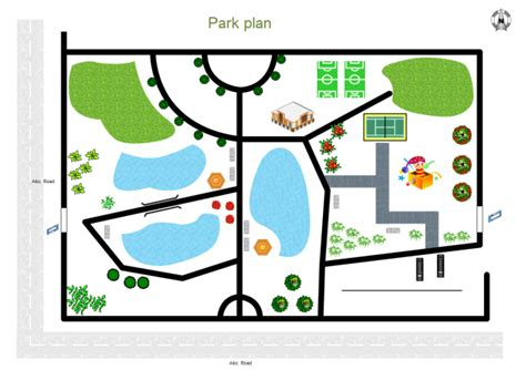 Floor Plan Template by Park Plan Free Park Plan Templates