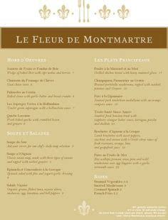 design a menu ks2 1000 images about french menus on pinterest menu