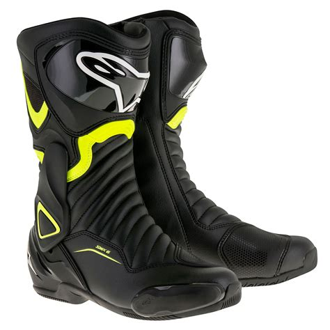 motorcycle street riding boots alpinestars smx 6 v2 road motorcycle bike motorbike biking