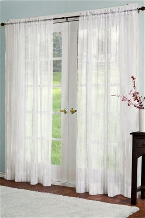 sheer panel curtains on sale best residence linen sheer look collection melissa curtain