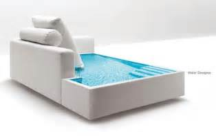 Water beds take two funky liquid furniture ideas