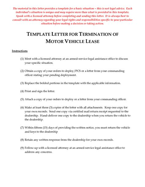 Lease Agreement Termination Letter Exle Early Termination Of Lease Agreement Letter Sle South Africa Make A Free Lease Termination