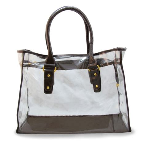 Ssteins Workbags by Clear Totes Tapestry Shoulder Bag