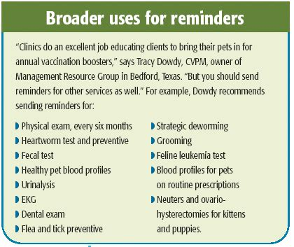 veterinary reminder card template article veterinary reminder cards see write