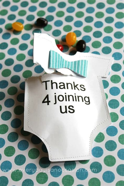 Boy Baby Shower Favors Diy by 10 Simple And To Make Diy Baby Shower Favors