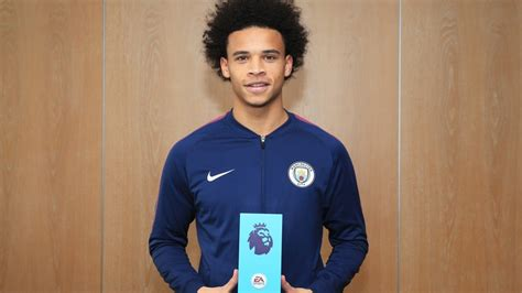 Epl Player Of The Month October 2017 | man city s pep guardiola and leroy sane win october