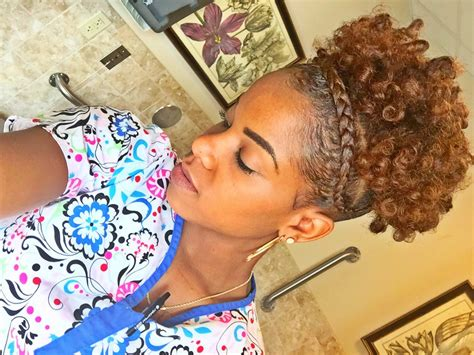 high puff hairstyle high puff on hair with braid