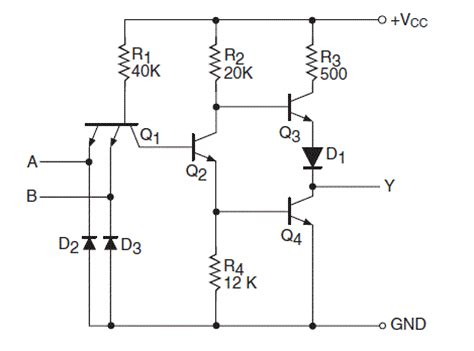 transistor nand gate tutorial transistor nand gate tutorial 28 images nand gate using npn transistor iamtechnical digital