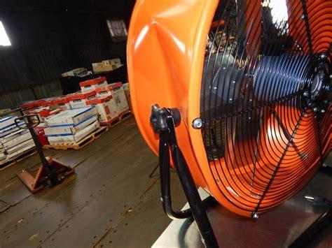 air max pro fan max air pro 24 quot barrel fan huge auction of portable a c