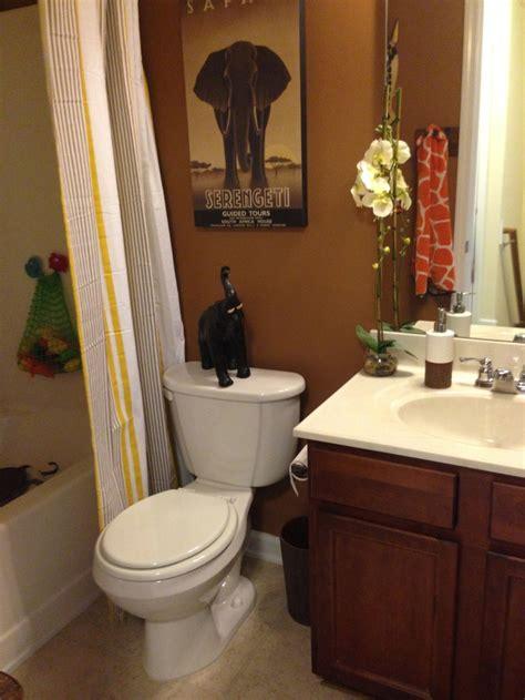 safari bathroom ideas  pinterest