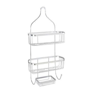 bathtub caddy home depot bath bliss prince style shower caddy in chrome dl 4732 chr