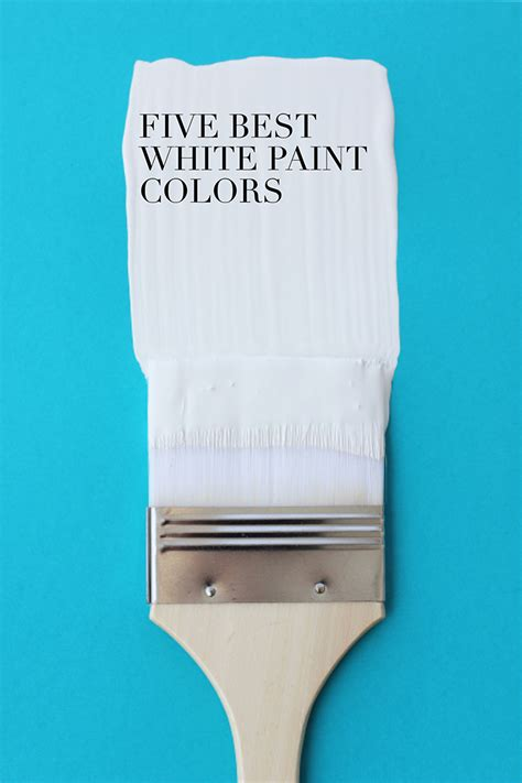 and lois5 best white paint colors