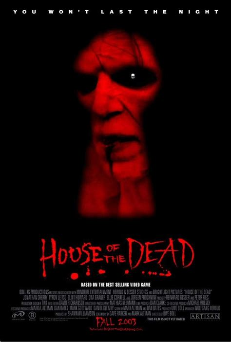 the house of the dead house of the dead movie poster 2 sided original 27x40 ebay