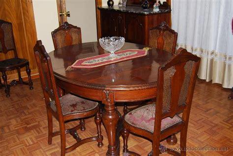 comedor antiguo de caoba compuesto de mesa   comprar