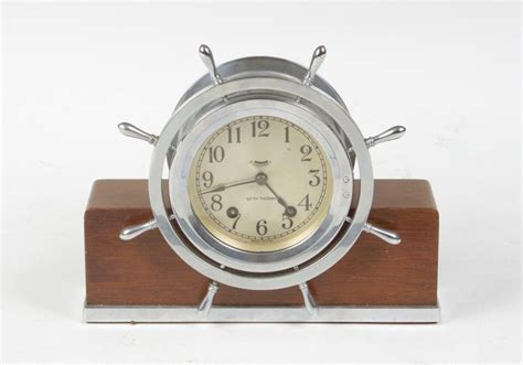 Clock L Stand seth helmsman ship s bell clock on stand