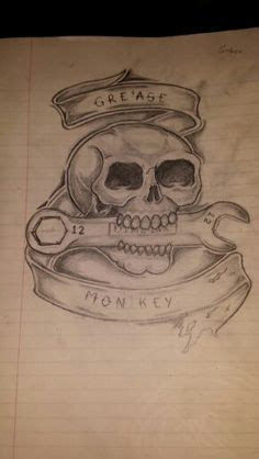 grease monkey tattoo ideas chevu camaro search chevy